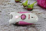 Женский эпилятор Nikai 7698 3 in 1 с 3 сменными насадками и фонариком, фото 3
