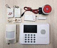 Сигнализация для дома GSM JYX G1 433 GHz с датчиком движения (2 пульта), фото 3