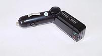 Автомобильный FM-модулятор CM-S16BL+BT, трансмиттер c Bluetooth, AUX, 2 USB, microSD/TF, фото 7
