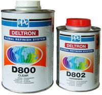 Лак акриловый PPG Deltron D800 MS с отвердителем Deltron LS D802