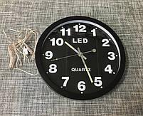 Настенные LED часы GH1207 30см / 65910, фото 2