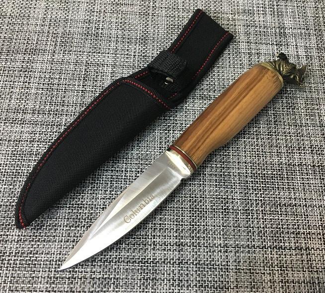Охотничий нож носорог Colunbia А3233 25см / Н-7812