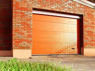 Гаражные ворота(секционные) 2625*2500 Алютех серии TREND., фото 2