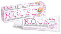 Зубная паста R.O.C.S. Рокс baby аромат липы, 45гр от  0 до 3 лет