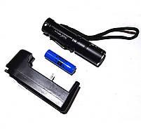 Фонарик аккумуляторный ручной Bailong BL-1815, фото 2
