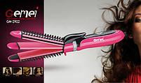 Gemei GM-2922 Многофункциональная плойка утюжок для волос 3в1, фото 2
