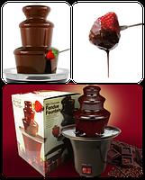 Шоколадный фонтан Фондю - Mini Chocolate Fondue Fountain, фото 4