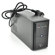 ДБЖ Ritar E-RTM600 (360W) ELF-L, LED, AVR, 2st, 2xSCHUKO socket, 1x12V7Ah, metal Case  Q4 (365*130*210) 4,8 кг (310*85*140)