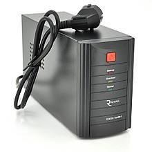 ДБЖ Ritar RTM600 (360W) Proxima-L, LED, AVR, 2st, 2xSCHUKO socket, 1x12V7Ah, metal Case ( 300 х 85 х140 ) Q4