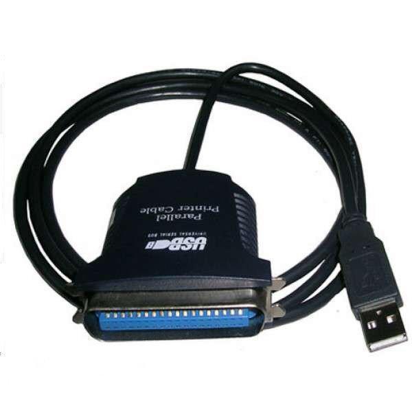 Кабель Спартак USB LPT IEEE36 1284 Черный (002881)
