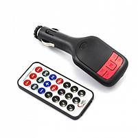 Автомобильный FM - модулятором FM-02, Трансмиттер MP3 с пультом дистанционного управления, фото 2