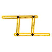 Мультифункциональная линейка Multifunctional folding ruler, фото 2
