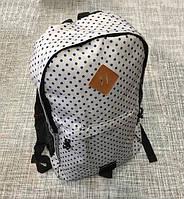 Міський рюкзак в горошок А002