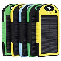 Power Bank на солнечных батареях 5000 mAh , фото 4