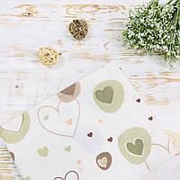 Пеленка фланелевая для новорожденного Lukoshkino ® Размер 80х100 см ФП-31