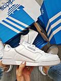Мужские кроссовки Adidas CONTINENTAL 80 White, фото 2