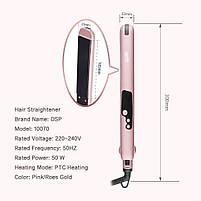 Утюжок-выпрямитель для волос DSP 10070, фото 5