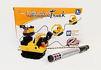 Индуктивный игрушечный автомобиль Inductive Truck (движется по нарисованному маршруту), фото 7