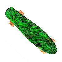 Пенниборд-скейт 24, колёса PU СВЕТЯЩИЕСЯ, фото 3