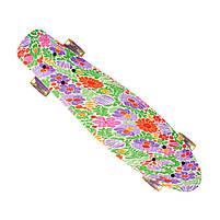 Пенниборд-скейт 24, колёса PU СВЕТЯЩИЕСЯ, фото 6