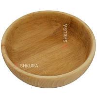 Деревянная тарелка 08. Глубокая, фото 1