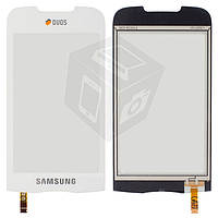 Сенсорный экран (touchscreen) для Samsung B7722i, белый, оригинал