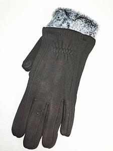 Сенсорны трикотаж с кролик Angel перчатки мужские только оптом