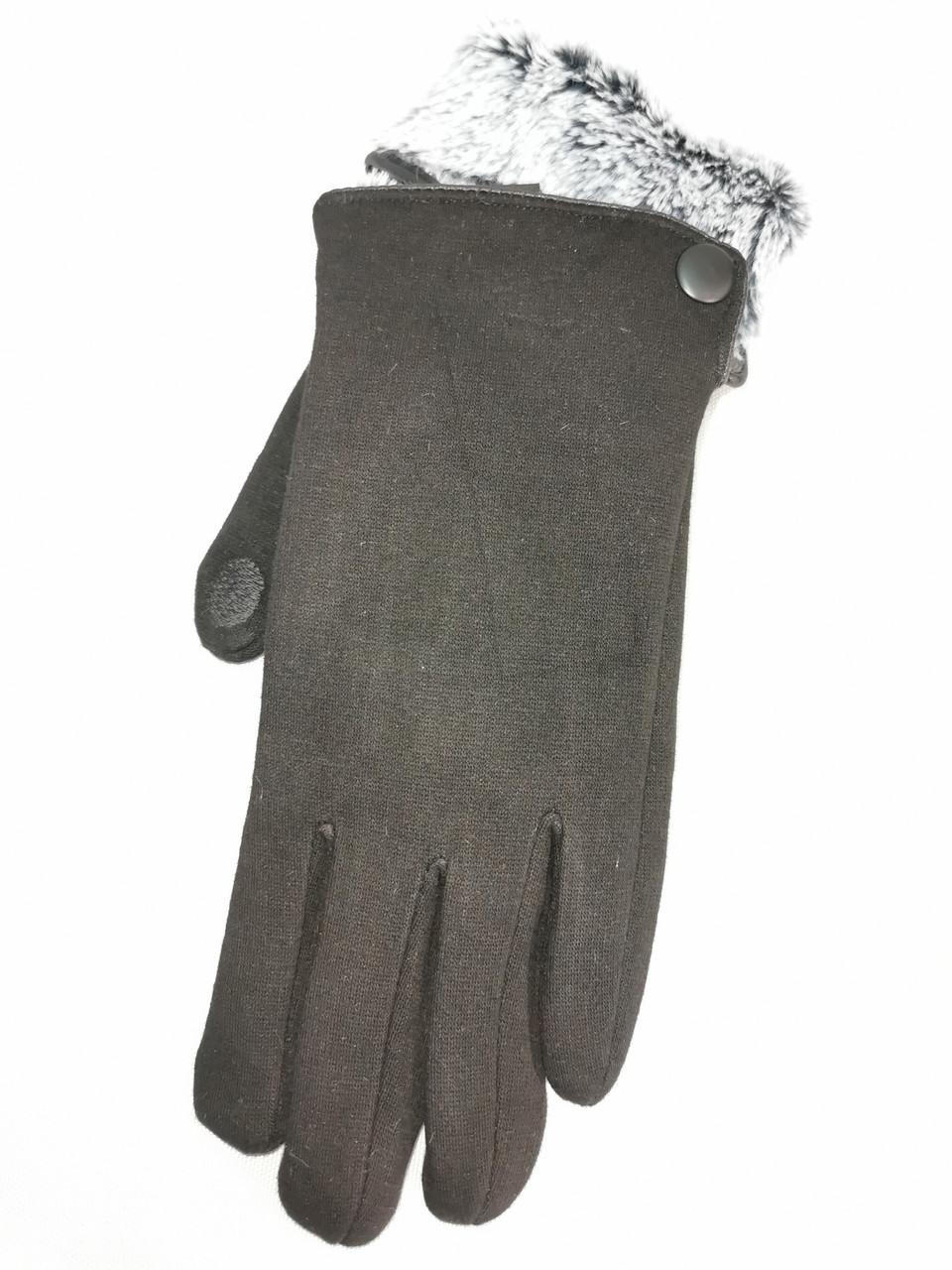 Сенсорны трикотаж з кролик Angel рукавички чоловічі тільки оптом