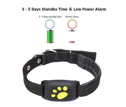 Лучший gps tracker для собак кошек животных (навигатор трекер ошейник), фото 2