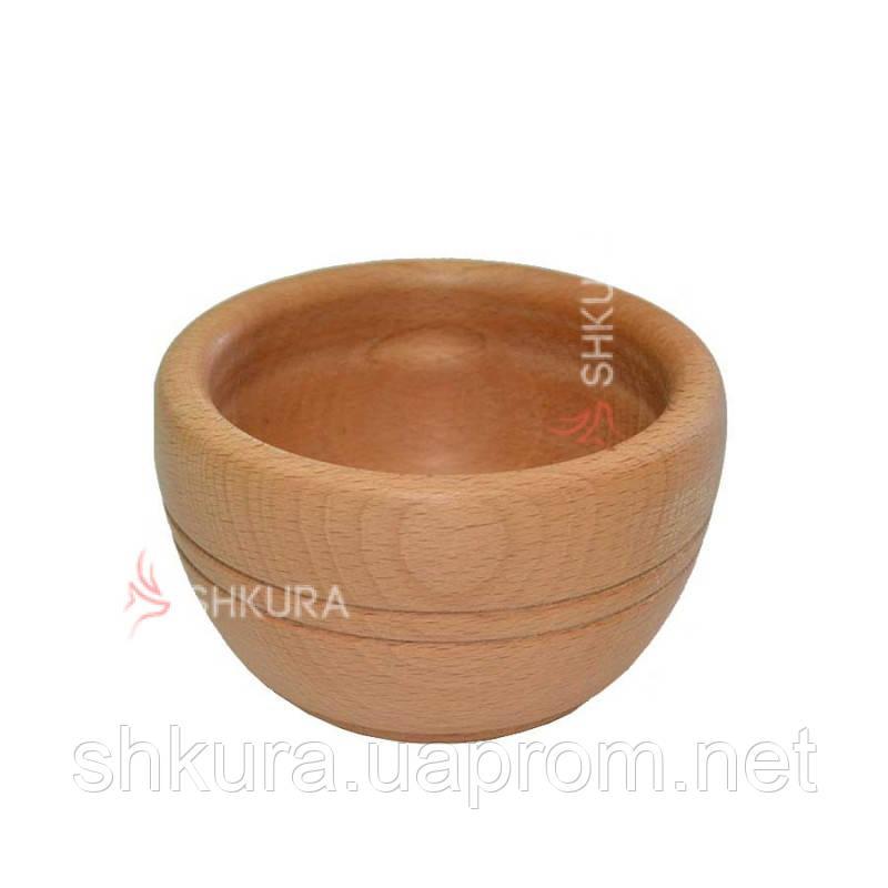 Деревянная тарелка 06. Глубокая