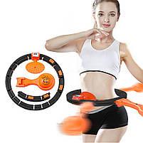 Обруч HULA Hoop LED (W76) / ХулаХуп / обруч для похудения не падающий, фото 2