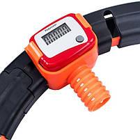 Обруч HULA Hoop LED (W76) / ХулаХуп / обруч для похудения не падающий, фото 4
