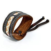 """Кожаный браслет """"Киев"""". 06"""