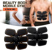 Миостимулятор body mobile gym 6 pack EMS для мышц пресса, фото 2