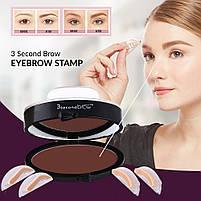 Штамп для бровей 3 Second Brow Eyebrow Stamp, фото 2