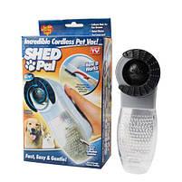 Машинка для вычесывания шерсти животных Pet Vacuum, фото 3