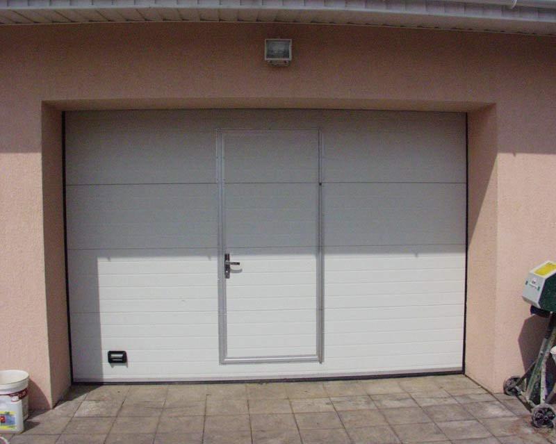 Гаражные ворота(секционные) 3500*2125 Алютех серии TREND.