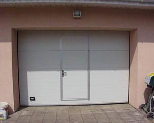 Гаражные ворота(секционные) 3500*2125 Алютех серии TREND., фото 2