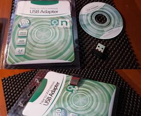 USB 2.0 Wi-Fi адаптер MT7601 150Мбит/с 2.4 Ghz беспроводная сетевая, фото 2
