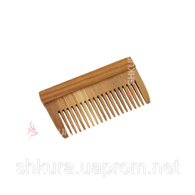 Деревянная расческа Т09
