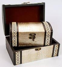 Набор деревянных шкатулок (2шт) BonaDi 405-207