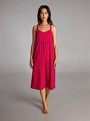 Яркая, стильная ночная рубашка, домашнее платье, платье для отдыха.