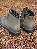 Ботинки женские демисезон Horoso на шнурках серые, фото 6