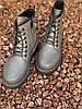 Ботинки женские демисезон Horoso на шнурках серые, фото 8