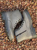 Ботинки женские демисезон Horoso на шнурках серые, фото 3