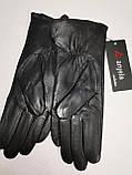 Кожа-натуральная с шерсти сетка Angel женские перчатки кожаные только оптом, фото 5