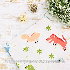 Пелюшка байкова для хлопчика Lukoshkino ® Розмір 80х100 см ФП-41
