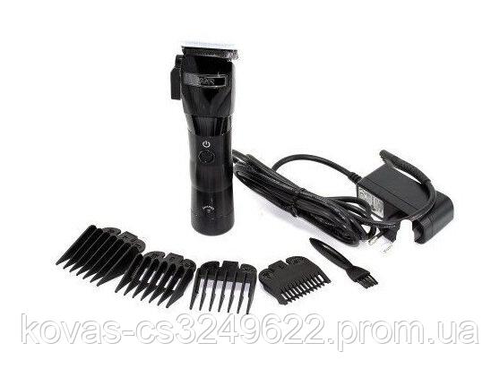 Профессиональная машинка для стрижки волос ProGemei, Aккумуляторная + Сеть на 220Вт