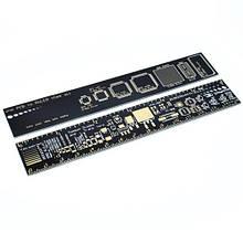 PCB Ruler лінійка шаблон для електронника радіоаматора 15см