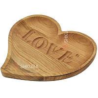 Доска для подачи блюд, Love